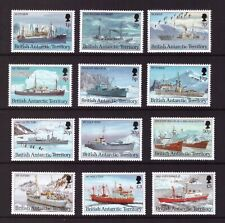 British Antarctic MNH 1993 Ships Research Vessels set  mint stamps