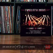 Twelfth Night - Live & Let Live: Definitive Edition 2CD NEU OVP