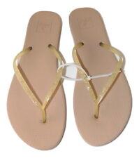 fc07f5b926d103 New REEF Nude Glitter Thong Women s Rubber Flip Flop ...