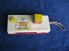 """Vintage Fp 1974 Fisher Price #464 Toy Pocket Camera Photo """"Trip To The Zoo"""""""