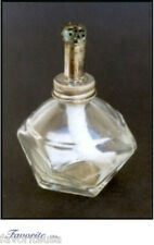 "ALCOHOL LAMP/BURNER GLASS OCTAGONAL 1/2"" WICK ADJ FLAME"