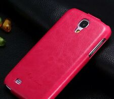 Flip/Folder Leather Case Cover For Samsung Galaxy S4 ,PINK COLOR . USA SELLER .