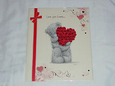 VALENTINES DAY CARD TATTY TEDDY LARGE GIRLFRIEND BOYFRIEND RRP £5 VALENTINE CARD