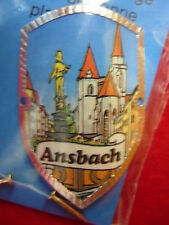 Ansbach new shield mount badge stocknagel hiking medallion G9928