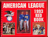 1993 American League Baseball Red Book