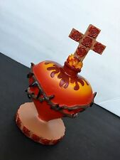 "Sacred Heart Statue Of Jesus Vintage Figurine 6"" Religious Sagrado Corazon"