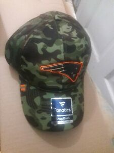 New England Patriots football camouflage Hat embroidered Pats NFL headwear Cap