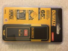 New Dewalt DW065E Self Laser Distance Measurer 65' Range New in the Box NIB