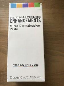 Rodan+Fields enhancments micro-dermabrasion paste 10 packets