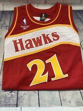 Dominique Wilkins #21 Reebok Hardwood Classics Atlanta Hawks Jersey Size XL NEW