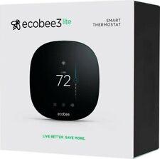 ecobee3 lite Smart Thermostat - Black NEW unopened box