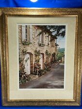 "33 x 27"" Framed And Matted Art Print - ROGER DUVALL - Door Ways?"