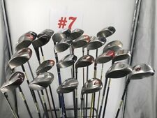 Lot of 24 Drivers Fairways Hybrids Taylormade Cleveland Zevo and More!