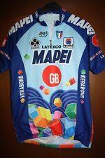 Maglia Radtrikot Shirt Maillot Ciclismo Mapei GB Colnago Giro d'Italia Tour