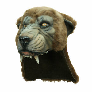 Cougar Helmet Wild Cat Panther Scary Halloween Costume Mask Adults Teens