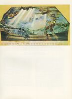 """1976 Vintage SALVADOR DALI """"DAUGHTER OF THE WEST WIND"""" COLOR Print Lithograph"""