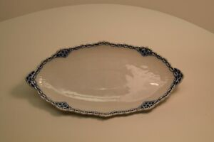 Vintage Royal Copenhagen Pickle Relish Tray Princess Blue # 349