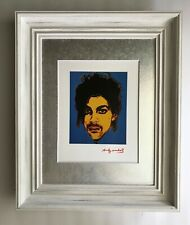 ANDY WARHOL ORIGINAL 1984 SIGNED PRINCE MATTED TO BE FRAMED AT 11X14
