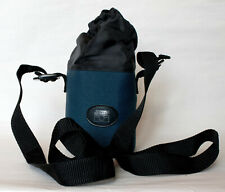 Jessop padded lens case,16x9cm internally, with carrying strap.