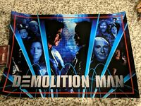 Demolition Man alternate pinball translite