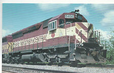 Wisconsin Central  #6498  SD45  Marshfield  WI   Photo 1977 Reprint  PC RR  23