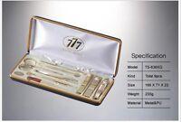 Three Seven 777 Travel Manicure Pedicure Grooming Set,steel,TS-636XG
