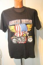 Original tee shirt MC  Biker GILDAN  American heritage noir T : XXL neuf