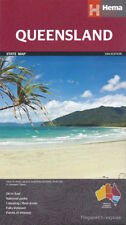 Hema Queensland Map *FREE SHIPPING - NEW*