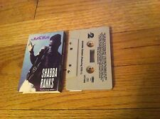 SHABBA RANKS Cassette Single THE JAM Boogie Down Productions KRS-1 1991 RARE OOP