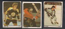 1974-75 LIPTON HOCKEY CARD NEAR SET 47/48