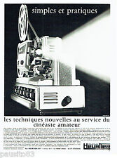 PUBLICITE ADVERTISING 086  1967  le projecteur Heurtier  P 6-24