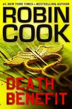 Death Benefit - Good - Cook, Robin - Hardcover