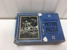 VINTAGE Dogs Puppies Puzzle SAALFIELD 24358