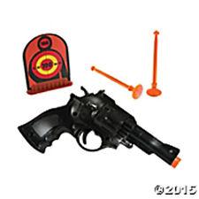 POLICE FORCE Pistol Play Set w/gun, darts & a target FREE U.S. FC Shipping NEW