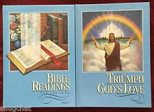 SDA Book Duo: Bible Readings for the Home ~ The Triumph of God's Love HB Books