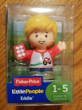 Fisher Price Little People EDDIE Figure 2017 New Sealed Free Shipping