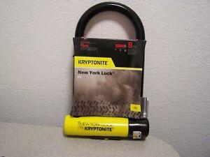 "Kryptonite STD New York 4"" x 8"" level grade 9 16 mm bar 3 Keys"