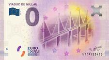 Billet Touristique 0 Euro - Viaduc de Millau - 2018-2