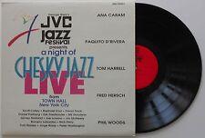 1992 Chesky Records JVC Jazz festival present a night of Chesky Jazz Live LP NM