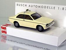 Busch 42109 Opel Kadett C Taxi beige Scale 1 87 NEU OVP
