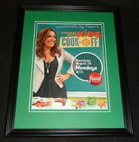 Rachael Ray Kids Cook Off 2015 Framed ORIGINAL 11x14 Advertisement Food Network