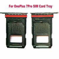 Para OnePlus 7 Pro 1+7 Pro Bandeja de Tarjeta Doble SIM Ranura Soporte
