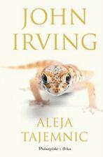 Polish book Aleja tajemnic  John Irving Polska książka