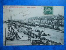 BOULOGNE-SUR-MER  :  Le Quai Chanzy...... VO.1908.