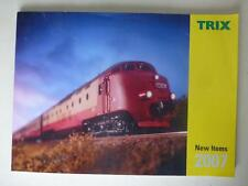 "Trix ""New Items"" Model Railway Colour Brochure Catalog 2007"