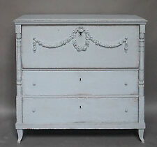 Antique Swedish Chest of Drawers with Classical Swags