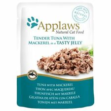 Applaws Tuna & Mackerel in Jelly Delicious Wet Cat Food Pouches - 16 x 70g
