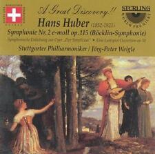 Hans Huber: Symphony No. 2 in E minor; Overtures (CD, Apr-2016, Sterling)