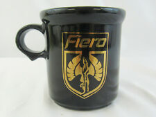 Vintage 1980's McCoy Black & Gold GM Pontiac FIERO Coffee Mug