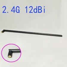 1pc WIFI Antenna 2.4 GHz 12dBi SMA Male Wireless WLAN Black Floding Omni Router